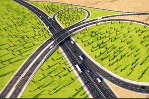 احداث تقاطع غیر همسطح درتقاطع ورودی جاده سیرجان به بندرعباس و کمربندی شهید رجایی