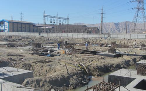 اجرای عملیات ساختمانی، سیویل و ابنیه سازه Warehouse & Personal Gate شرکت فولاد کاوه جنوب کیش