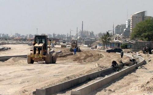احداث بلوار ساحلی حسین آبـاد بندر عباس