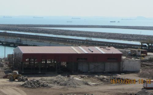 Civil works and construction of 5,000 cubic meters per day Desalination of Kish south Kaveh steel company project