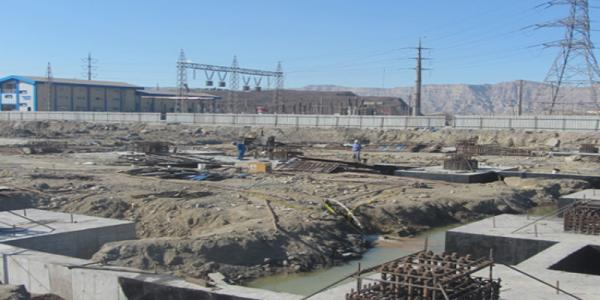 Civil works and Warehouse & Personal Gate Structure Buildings of Kish south Kaveh steel company project