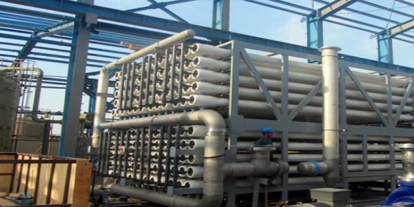 پروژه عملیات سیویل و ساختمانی احداث آب شیرین کن شرکت فولاد کاوه جنوب کیش